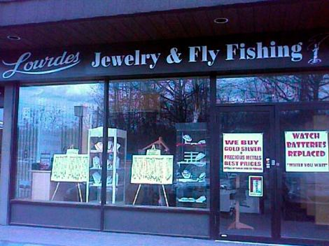 Lourdes Jewelry and Fly Fishing