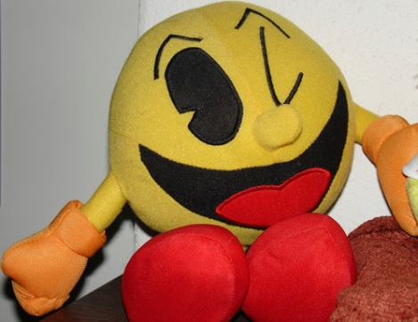 Pacman doll