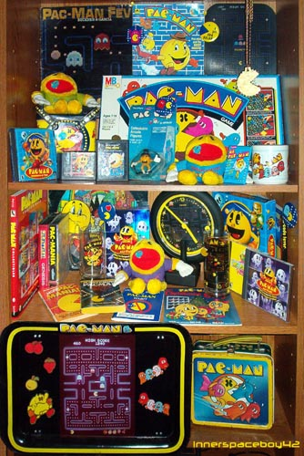 A few of my Pacman collectibles