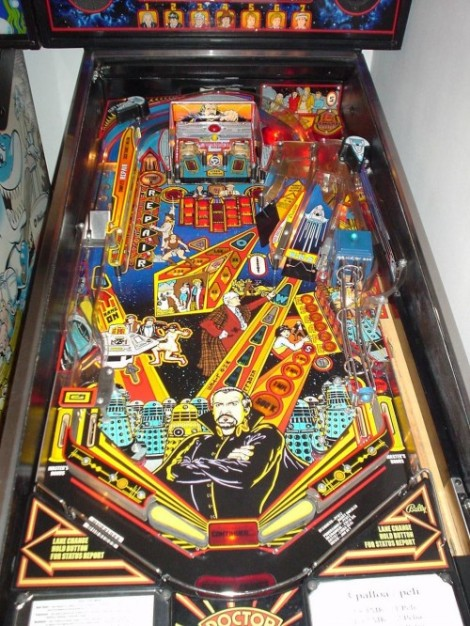 Dr Who Pinball Table