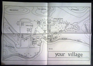Map of Village (open)