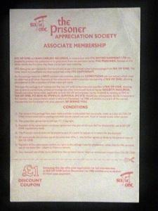 SixOfOne Society Membership Application