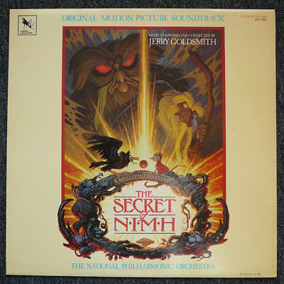 The Secret of N.I.M.H. soundtrack, Varese STV 81669