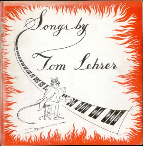Tom Lehrer - Songs by Tom Lehrer (1953 12in)