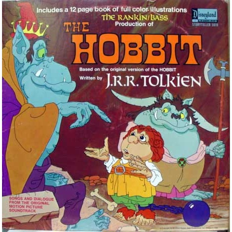 Rankin / Bass' The Hobbit LP (1977)