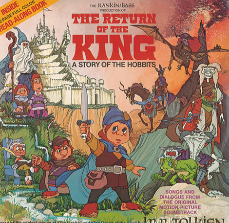 Return of the King Book & Record (1980)