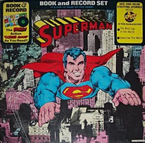Superman Book & Record (1976)