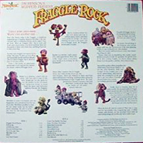 Fraggles, The - Fraggle Rock US back