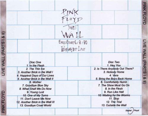 Pink Floyd The Wall Album Back Cover Www Pixshark Com