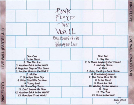 Mis-labeled Pink Floyd - The Wall Live @ Nassau Coliseum in New York 02-26-80 (back)