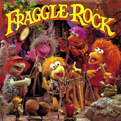 Fraggle Rock - Weekly Reader LP front