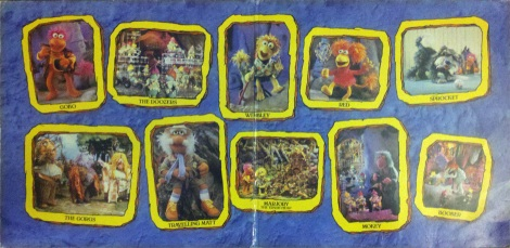 Fraggles, The - Fraggle Rock (Germany) Gatefold