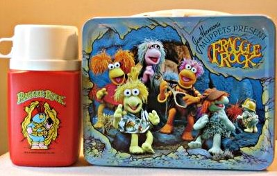 1984 Fraggle Lunch Box w Thermos