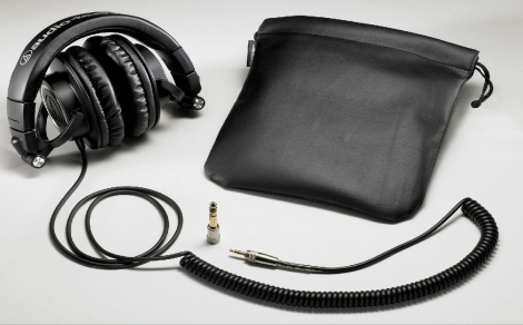 Audio Technica ATH M50 headphones