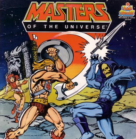 He Man & Skeletor - Masters of the Universe