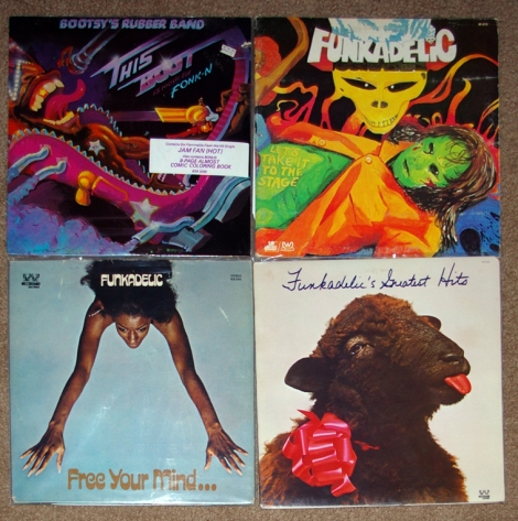 More funk from the record show