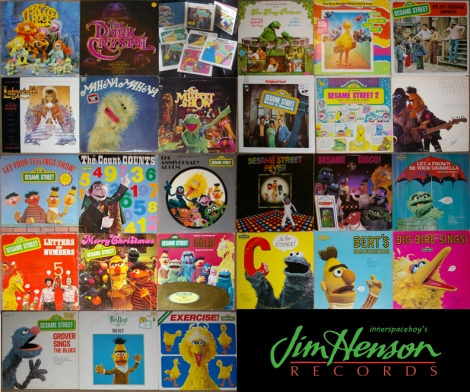 My Jim Henson records