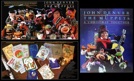 John Denver & the Muppets - A Christmas Together (1979 w Poster)