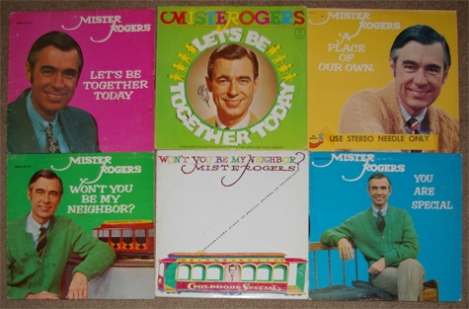 Mister Rogers 6LPs