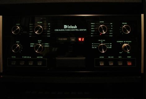 McIntosh C39 Pre Amplifier