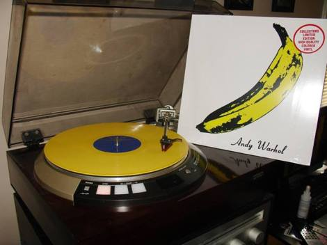 Velvet Underground & Nico - Banana yellow vinyl pressing