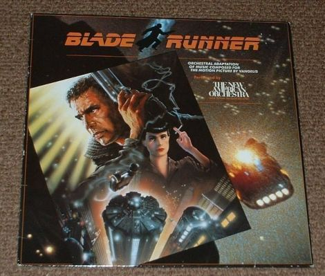 New American Orchestra - Blade Runner Soundtrack LP 1982