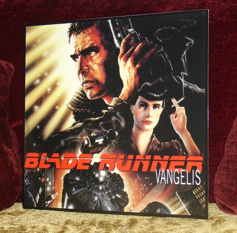 Blade Runner Ltd Ed Red Transparent Vinyl (Front)
