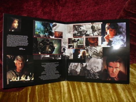 Blade Runner Ltd Ed Red Transparent Vinyl (Gatefold)