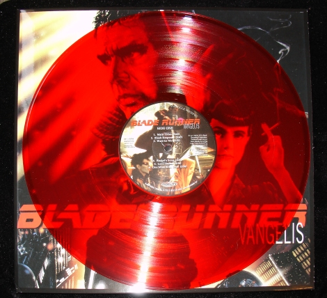 Blade Runner Ltd Ed Red Transparent Vinyl (Disc A)