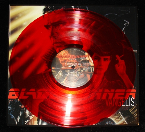 Blade Runner Ltd Ed Red Transparent Vinyl (Disc B)