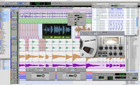 Why pay Universal for a studio when you've got ProTools at home?