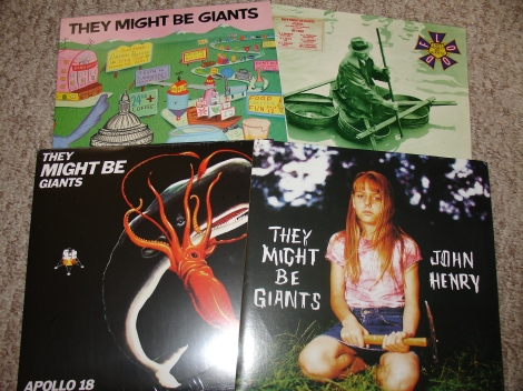 They Might Be Giants LPs