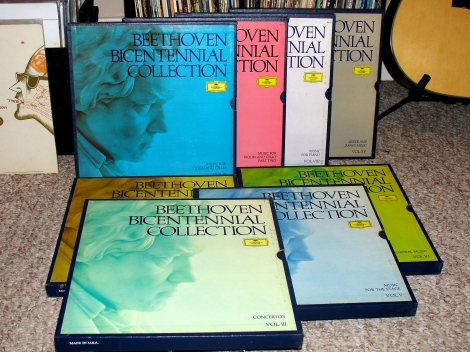 Deutsche Grammophon Beethoven Bicentennial Collection