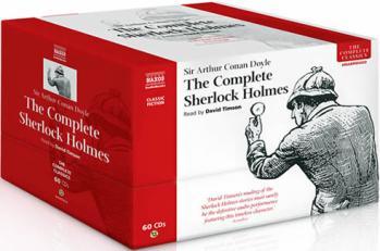 Complete-Sherlock-Holmes-Sir-Arthur-Conan-Doyle-unabridged-compact-discs-Naxos-Audiobooks