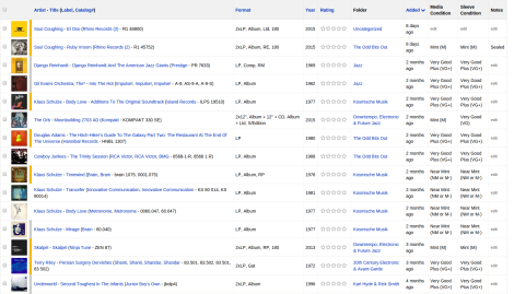 Discogs Interface