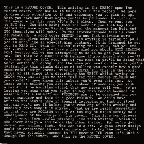 XTC - Go 2 (1978)