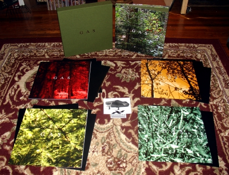 Gas- Gas Box 10LP + 4CD + Book (Wolfgang Voigt)