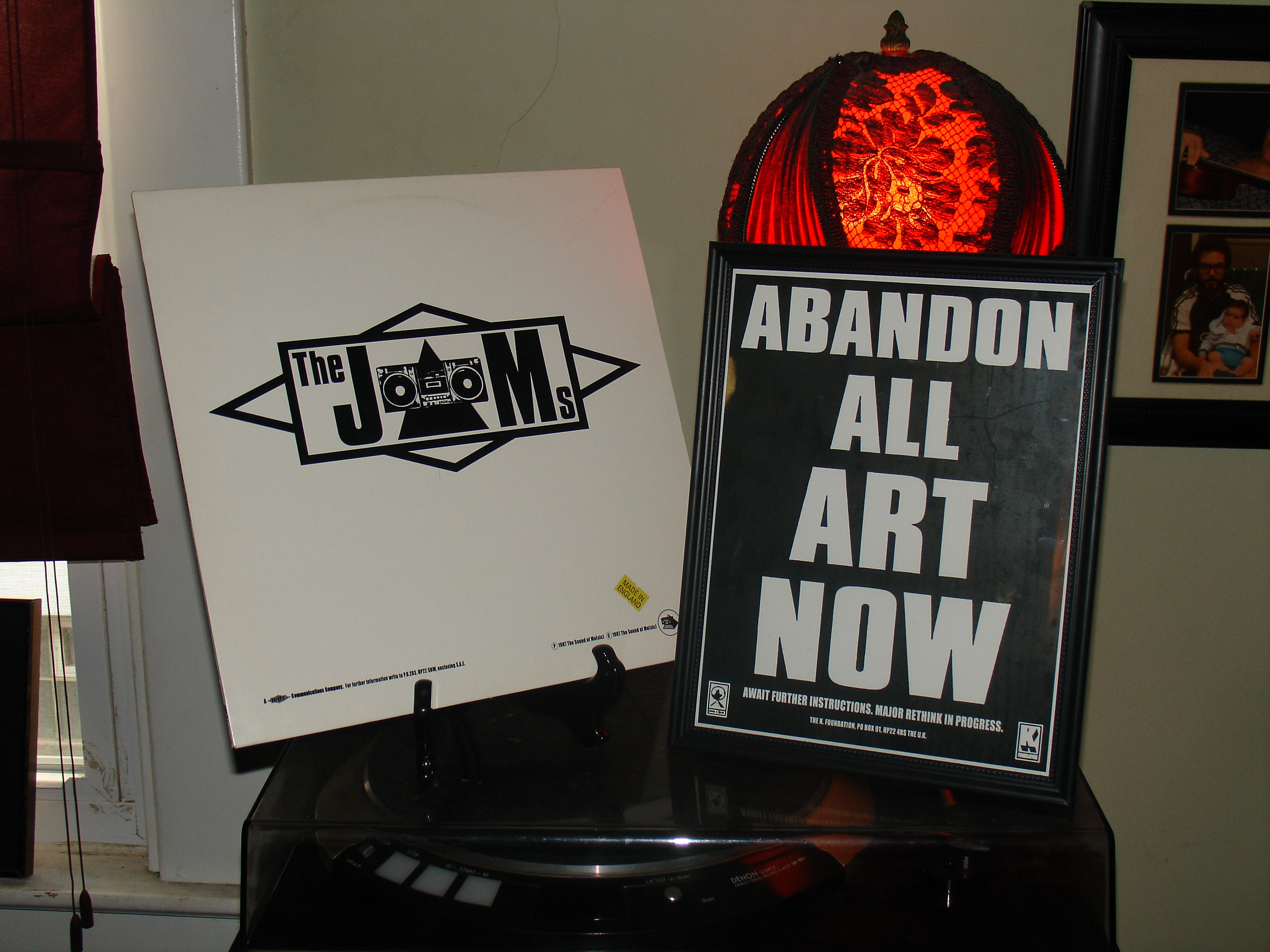 The KLF - Justified Ancients of Mu Mu - 1987 - What the  Fuck is Going On.JPG