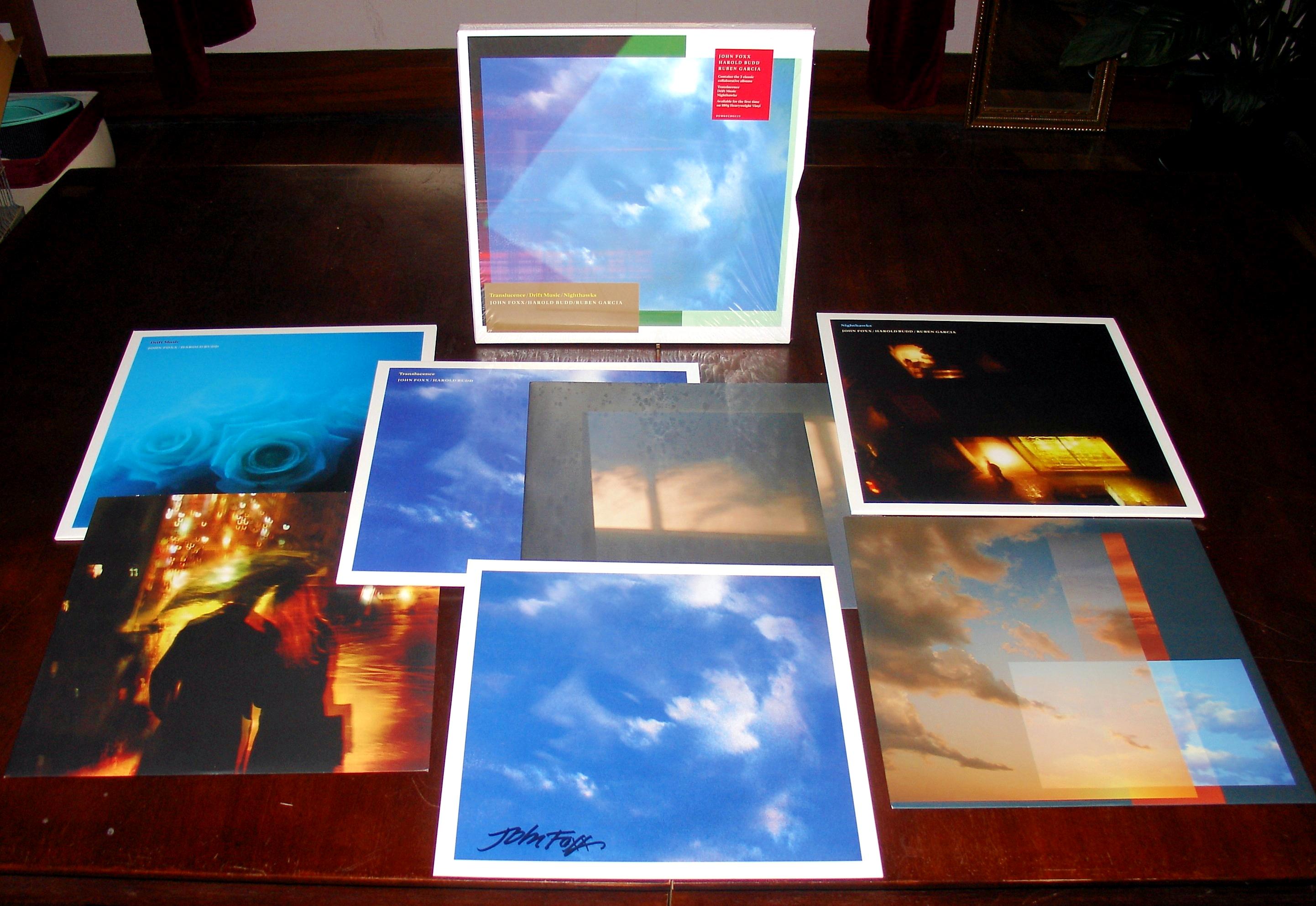 Harold Budd & John Foxx - Translucence Drift Music Nighthawks Box Set