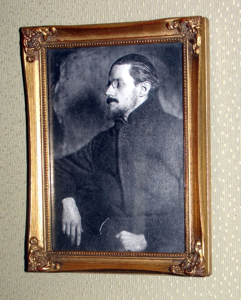 05 James Joyce Portrait Framed at Office.JPG