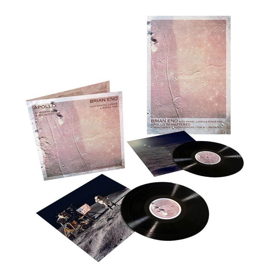 Brian Eno - Apollo and For All Mankind plus Bonus Poster