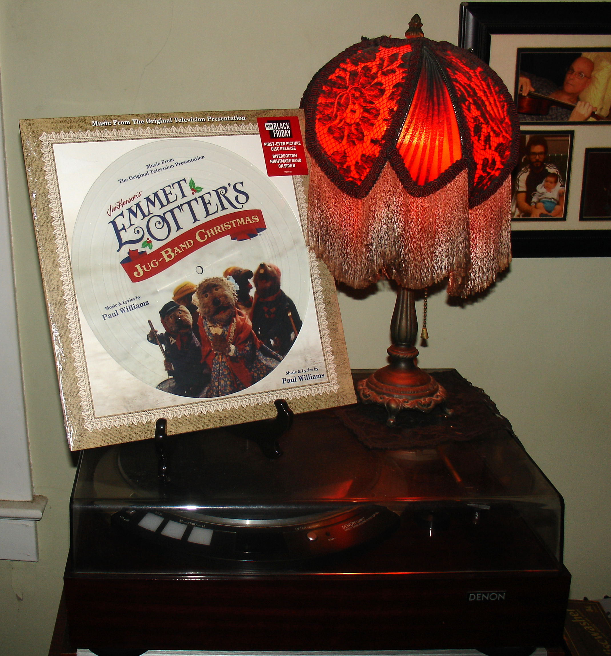 Emmet Otter's Jug-Band Christmas RSD 2019 Picture Disc 12-17-19