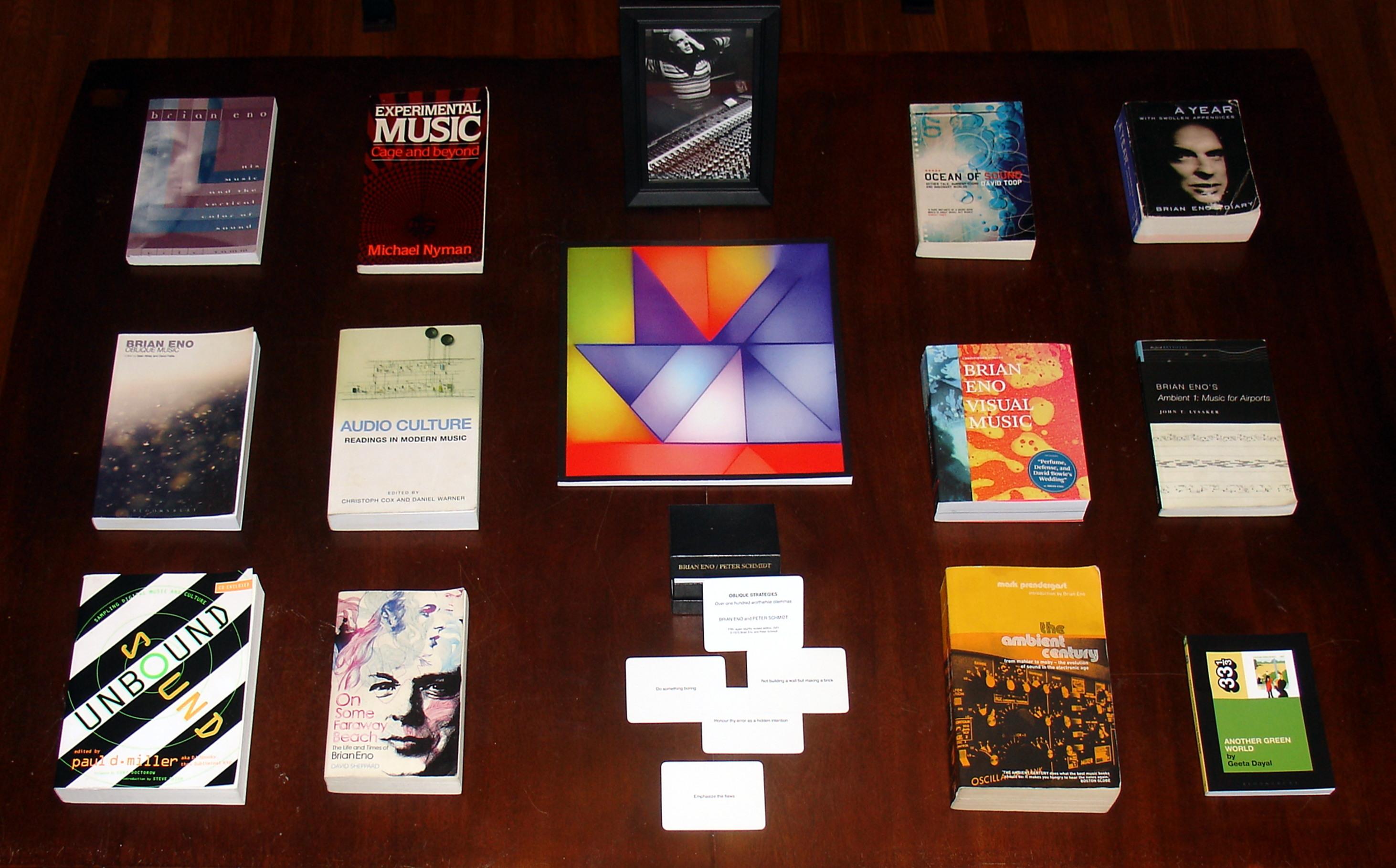02 Brian Eno Book Collection (sm for web)