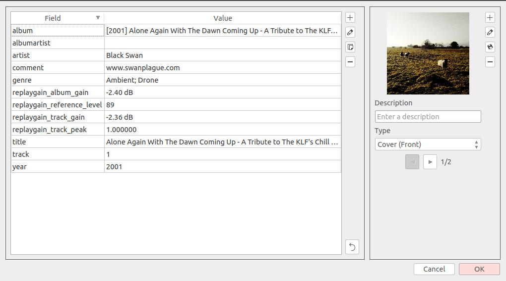 Replaygain Screenshot 01-24-2020