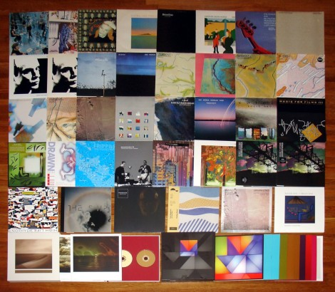 01 Brian Eno Collage LP Vinyl Collection sm for web