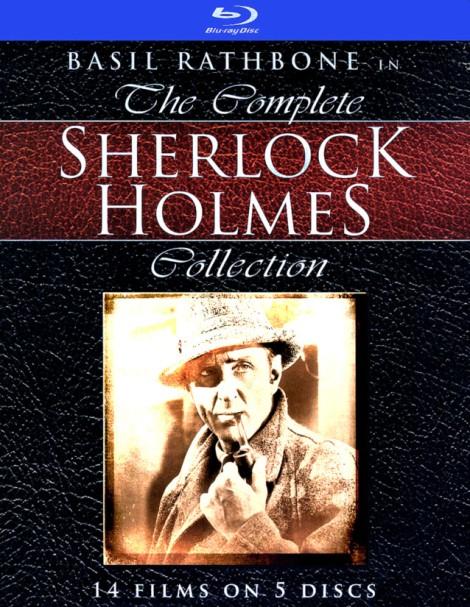 Sherlock Holmes Basil Rathbone Blu-Ray DVD